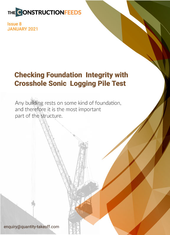 Checking Foundation Integrity with Crosshole Sonic Logging Pile Test