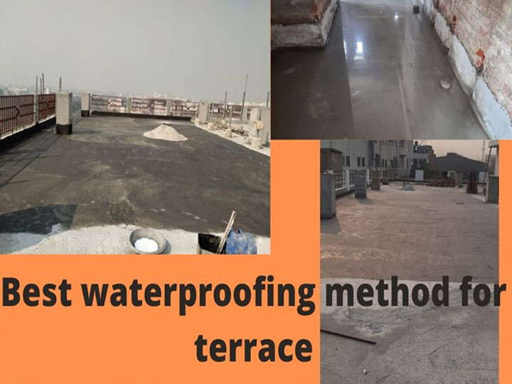 Methods of Terrace Waterproofing