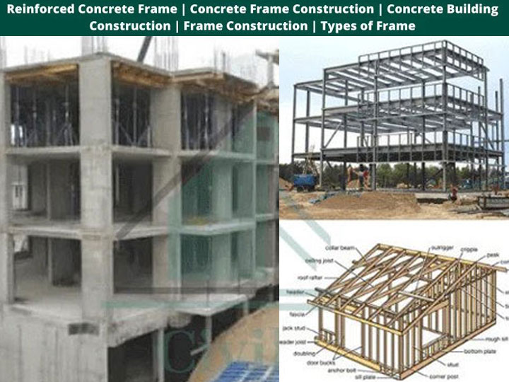 RCC Frame Construction - Advantages, Types & Construction