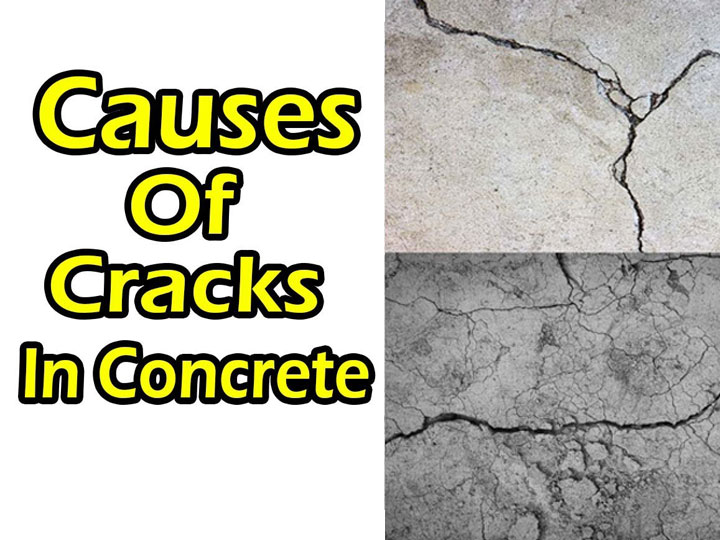 Types & Causes of Concrete Cracks