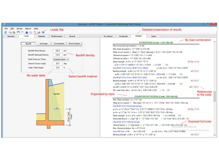 Calculate Footings Easily with ASDIP Foundation